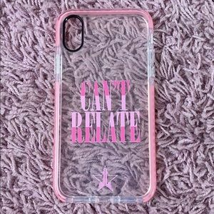 Jeffree Star can't relate phone case
